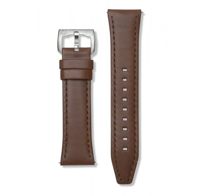 REC P-51 – Brown Leather 24mm – REC Watches