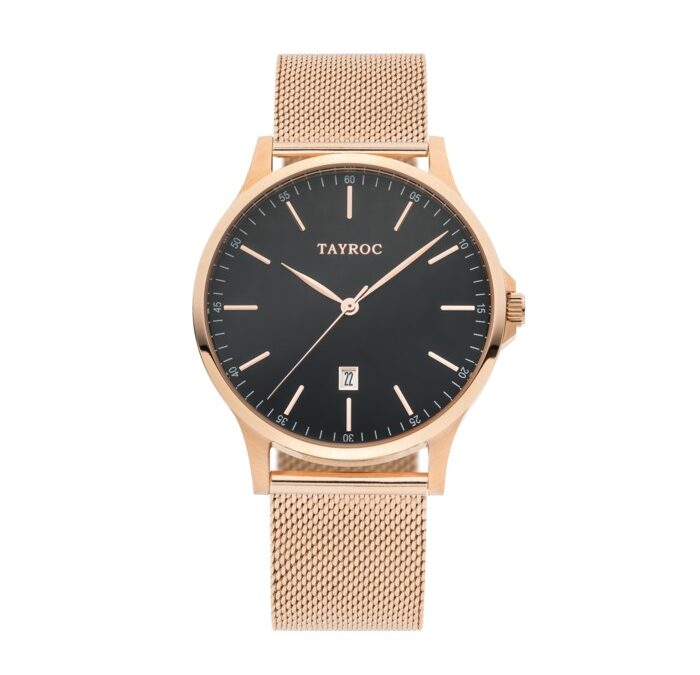 Tayroc TXM109 Rose Gold Mesh Iconic 42 mm herreur